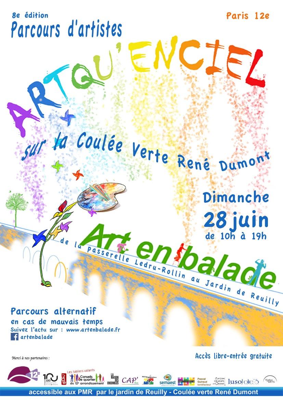 Affiche 2015 - Art en Balade